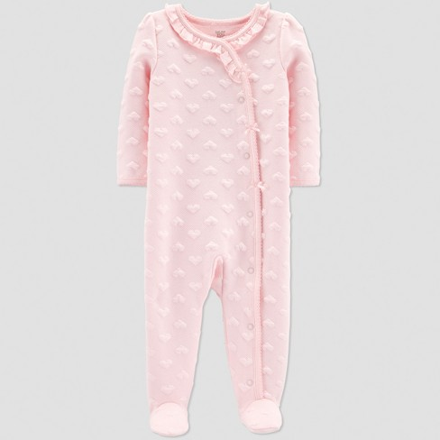 Baby Girls' Collection Sleep 'N Play - Just One You® made by carter's Pink 9M - image 1 of 1
