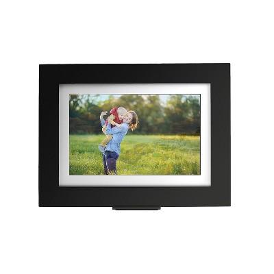 "Brookstone PhotoShare Friends and Family Smart Frame, 8"", Black (339281) SWMTFSM08BLB"