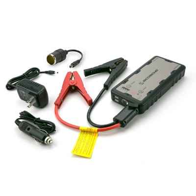 Scosche Portable Car Jump Starter with USB Power Bank and LED Flashlight Black