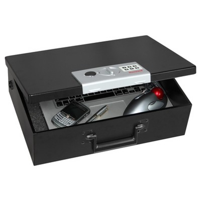 Honeywell 0.48 cu ft/Fire Resistant Digital Steel Security Box