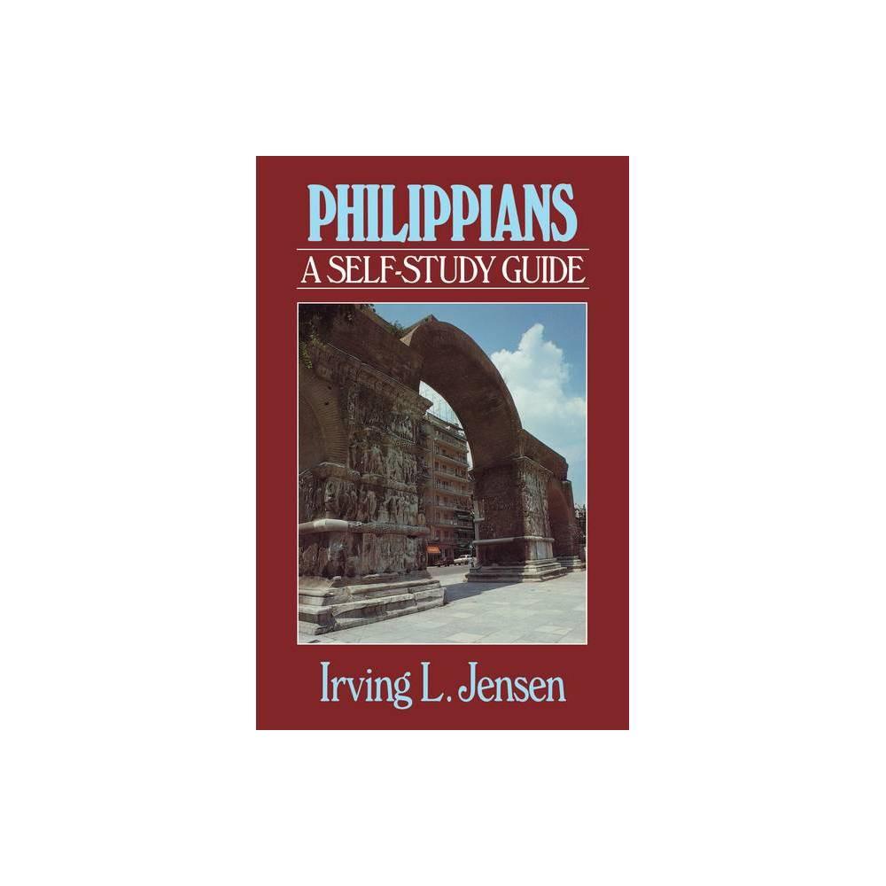 Philippians Jensen Bible Self Study Guide Jensen Bible Self Study Guide By Irving L Jensen Paperback