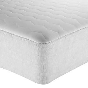 Cotton Mattress Pad 200-Thread Count White (King)