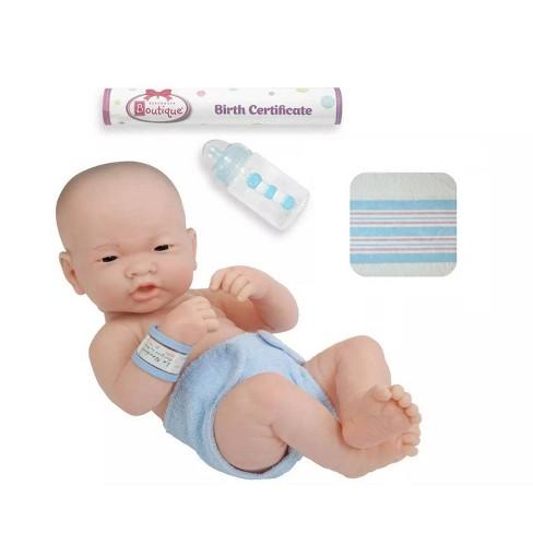 "JC Toys La Newborn ""First Day"" 14"" Boy Doll - Blue - image 1 of 4"