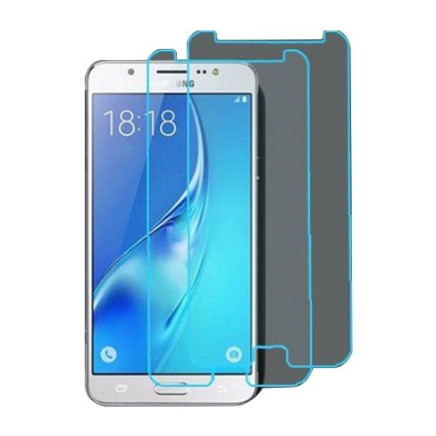 ASMYNA 2-Pack Tempered Glass LCD Screen Protector Film Cover For Samsung Galaxy J7 (2017)/J7 Perx/J7 Sky Pro/J7 V/On7 (2016) - image 1 of 1