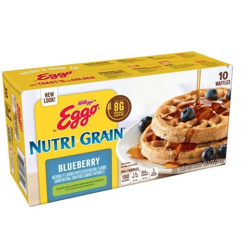 Kellogg's Eggo Nutri-Grain Blueberry
