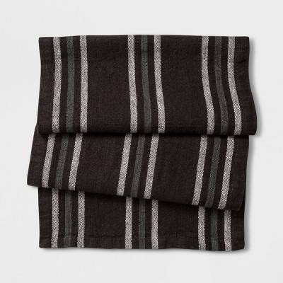 Table Runner Vertical Stripe - Brown - Smith & Hawken™