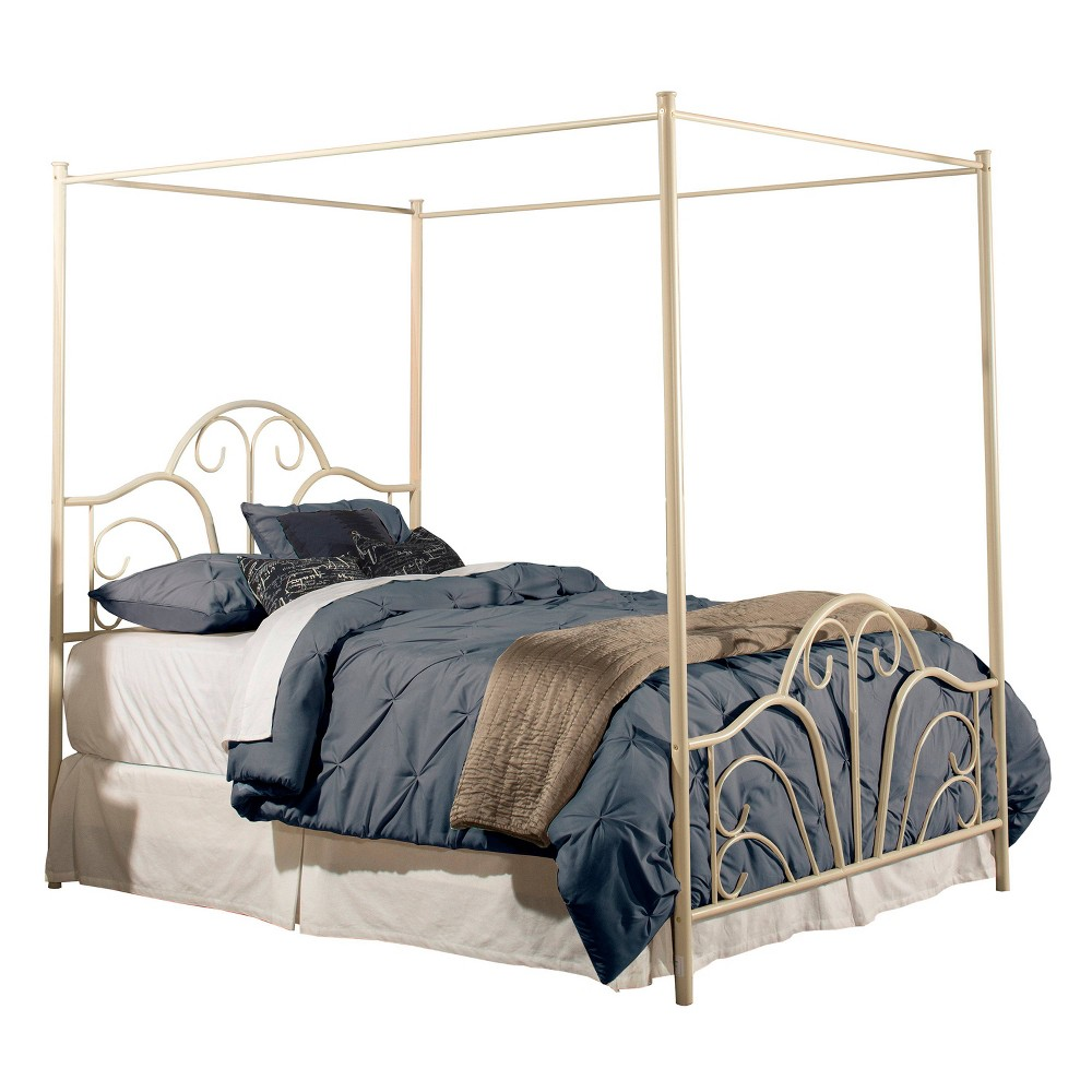 Queen Dover Bed Cream (Ivory) - Hillsdale Furniture