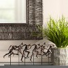 "Dahlia Studios Marathon 17 3/4"" Wide Metal Sculpture - image 2 of 4"
