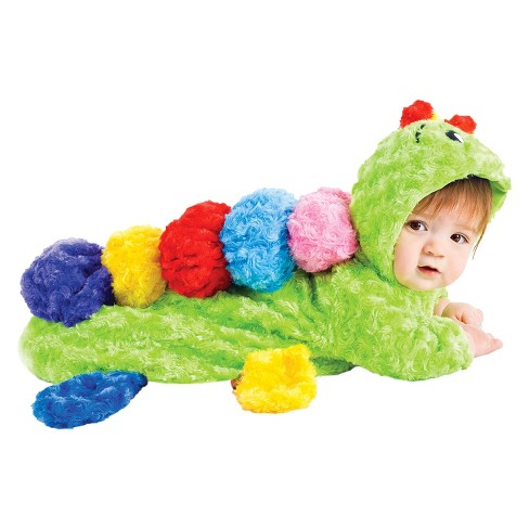 Baby Colorful Caterpillar Bunting Costume 0-6M - Underwraps Costumes - image 1 of 1