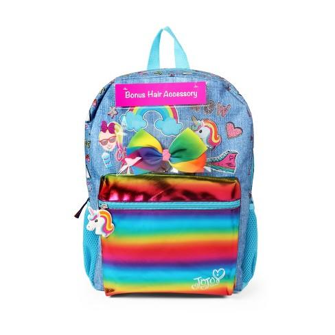 JoJo Siwa 16'' Kids' Backpack with Bonus Hair Bow - image 1 of 4