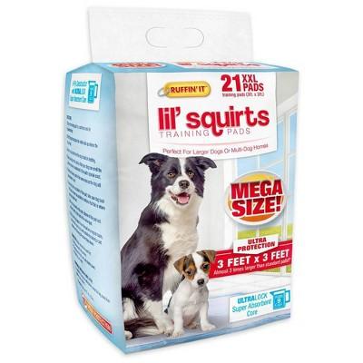 Ruffin' It Lil Squirts Mega Dog Pads - XXL - 21ct