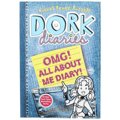 Scholastic Dork Diaries: OMG All About Me Diary! Paperback Book