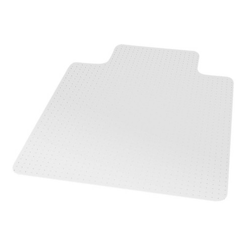 """3'9""""x4'5"""" Rectangle Solid Office Chair Mat Clear - Staples - image 1 of 2"""