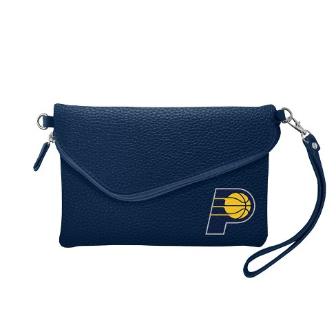NBA Indiana Pacers Fold Over Pebble Crossbody Bag - image 1 of 1