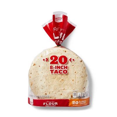 "8"" Flour Tortillas - 20ct - Market Pantry™"