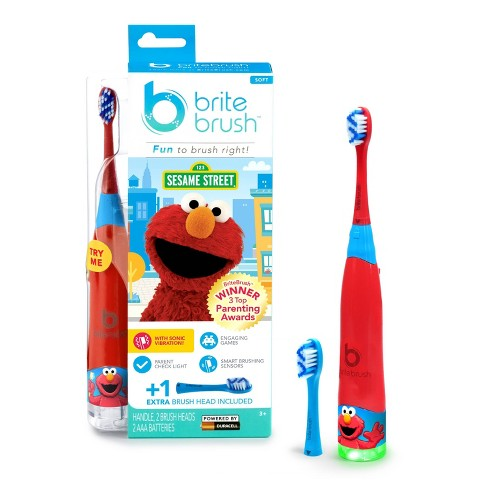 BriteBrush Interactive Smart Kids Toothbrush featuring Elmo - image 1 of 4