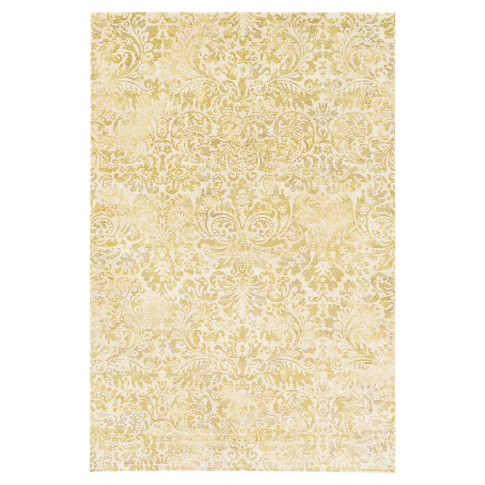 Moss (Green) Solid Tufted Area Rug - (5'1