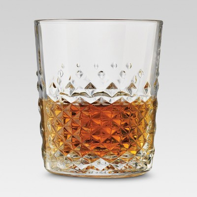 4pk Double Old-Fashioned Glasses 8oz - Threshold™