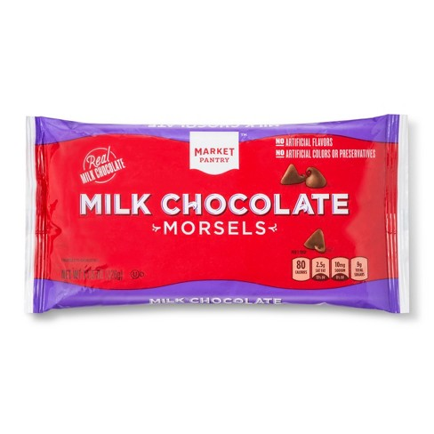 Milk Chocolate Chips - 11.5oz - Market Pantry™ - image 1 of 1