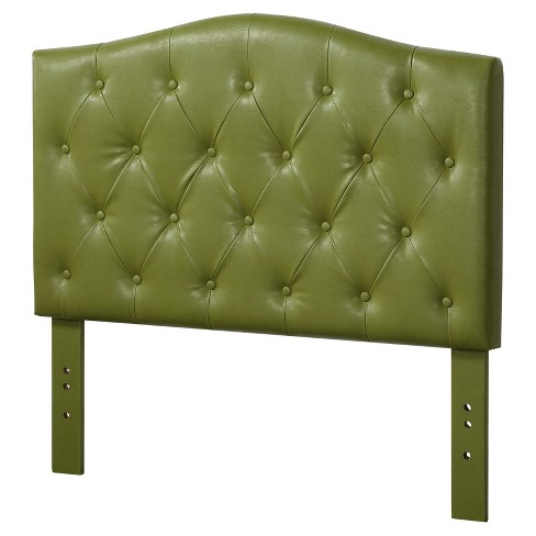 Viola Twin Headboard Green Faux Leather - Acme - image 1 of 3