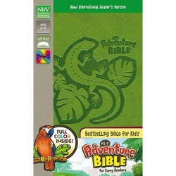 Adventure Bible for Early Readers-NIRV - by  Zondervan (Leather_bound)