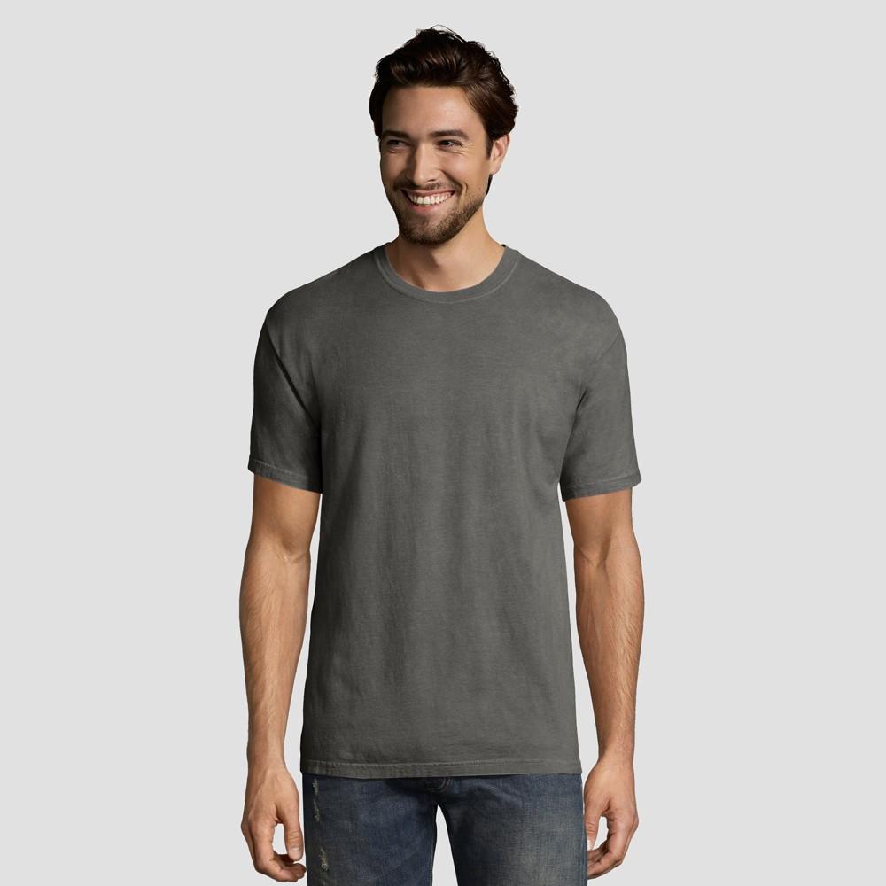 Hanes 1901 Men S Big Tall Short Sleeve T Shirt Gray 3xl