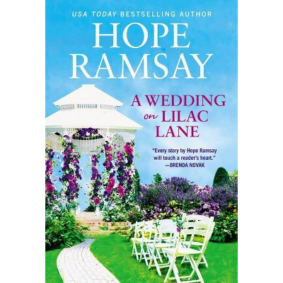 A Wedding on Lilac Lane - (Moonlight Bay, 4) by Hope Ramsay (Paperback)