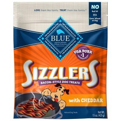 Blue Buffalo Sizzlers Cheddar Dog Treats - 15oz