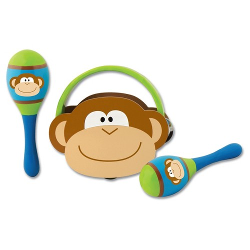 Stephen Joseph Percussion Set - Monkey
