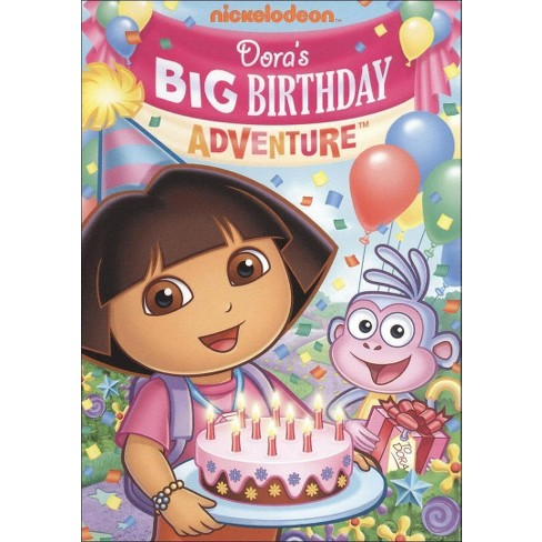 Dora the Explorer: Dora's Big Birthday Adventure (Pop-Up Packaging) (dvd_video) - image 1 of 1