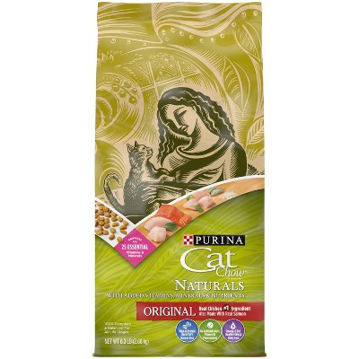 Purina Cat Chow Naturals Original Adult Complete & Balanced Dry Cat Food