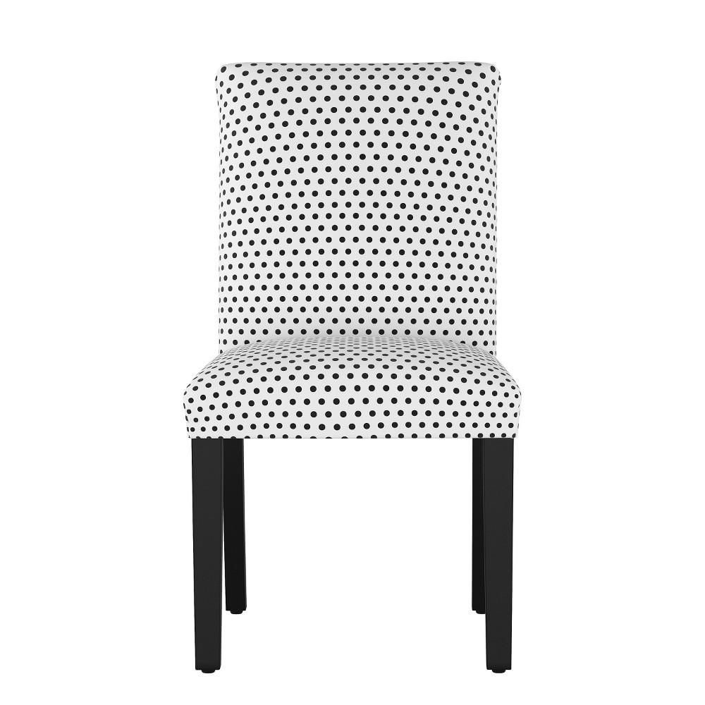 Hendrix Dining Chair Black Dot - Cloth & Co.