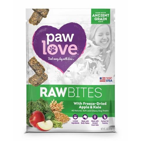 Paw Love Raw Bites Freeze-Dried Apple & Kale - 3oz - image 1 of 1
