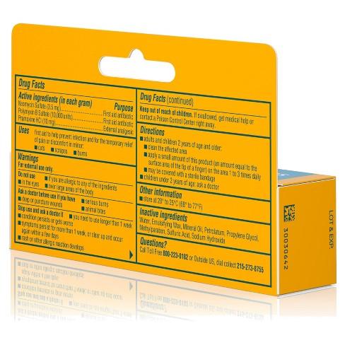 Neosporin Antibiotic and Pain Relieving Cream for Children - 0 5 oz