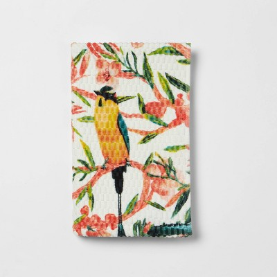 Floral/Bird Hand Towel - Opalhouse™