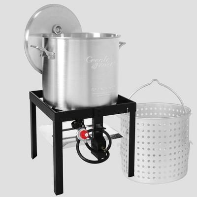 Creole Feast 80qt Seafood Boiling Kit SBK0801G