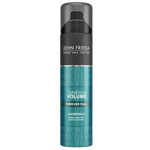 John Frieda Luxurious Volume Forever Full Build Fullness & Hold For Fine Hair Spray - 10oz - image 1 of 4