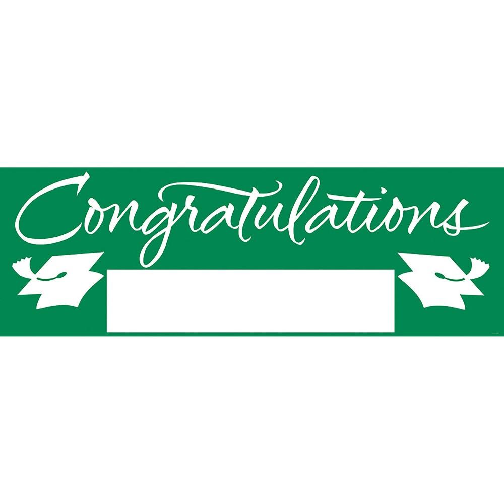 Congratulations Graduation Party Banner