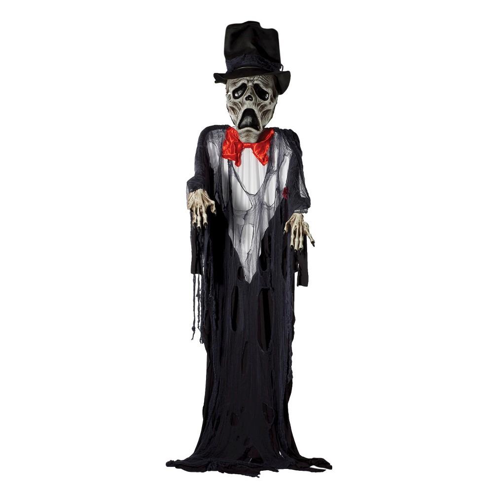 Image of Halloween Ghost Groom Decor, Black