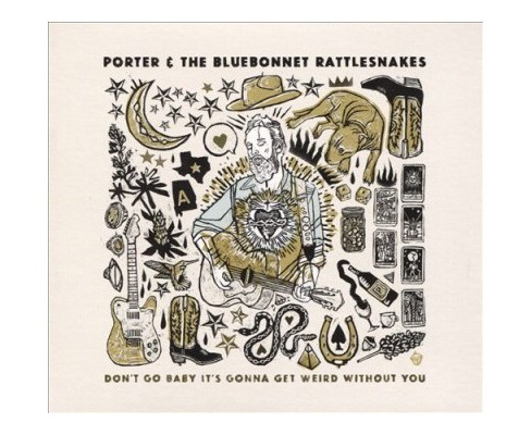 Porter & The Bluebon - Don't Go Baby It's Gonna Get Weird Wi (CD) - image 1 of 1