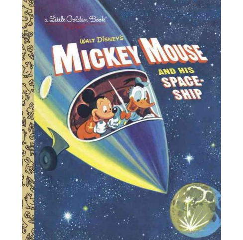 Mickey Mouse and His Spaceship (Hardcover) (Jane Werner) - image 1 of 1