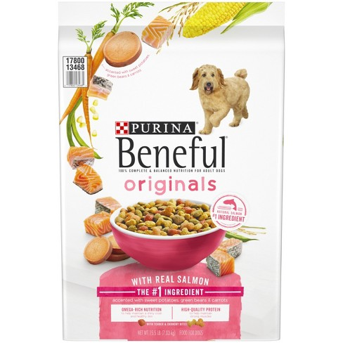 Purina® Beneful Originals Real Salmon Dry Dog Food - image 1 of 6