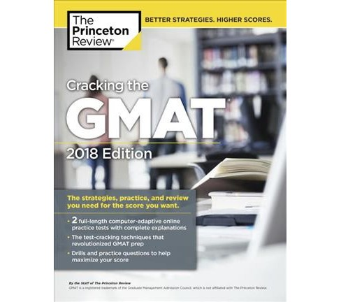 Princeton Review Cracking the GMAT 2018 -  (Paperback) - image 1 of 1