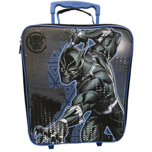 """Marvel Black Panther 14"""" Carry On Suitcase - Black - image 1 of 4"""