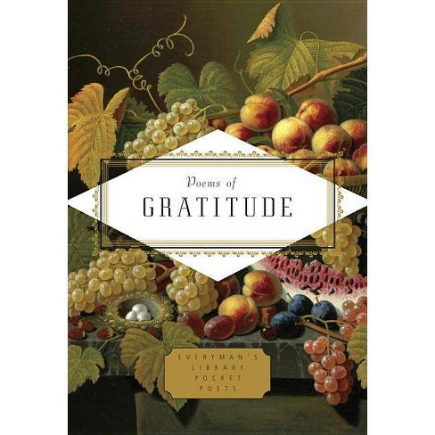 Poems of Gratitude - (Everyman's Library Pocket Poets) (Hardcover) - image 1 of 1