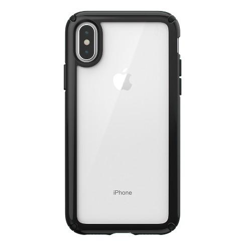 the best attitude 21b6f df09a Speck Apple iPhone X/XS Presidio Case - Clear/Black
