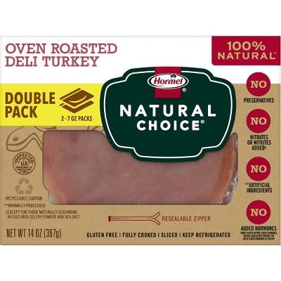 Hormel Natural Choice Oven Roasted Turkey - 14oz