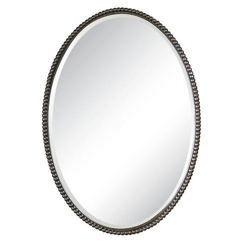 Oval Sherise Decorative Wall Mirror Bronze - Uttermost - image 1 of 2