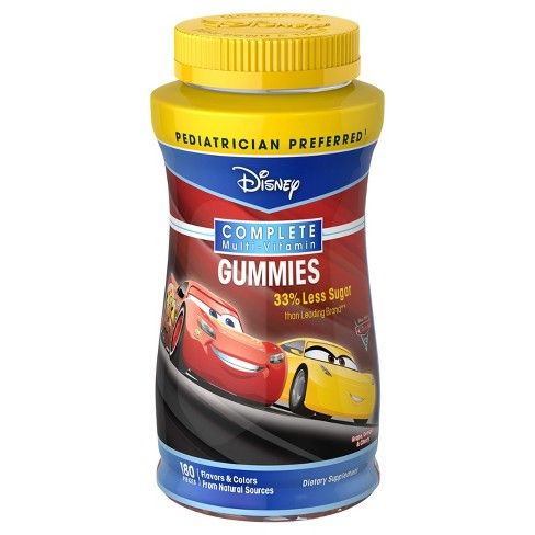 Cars Complete Multivitamin Gummies - Fruit Flavors - 180ct - image 1 of 1