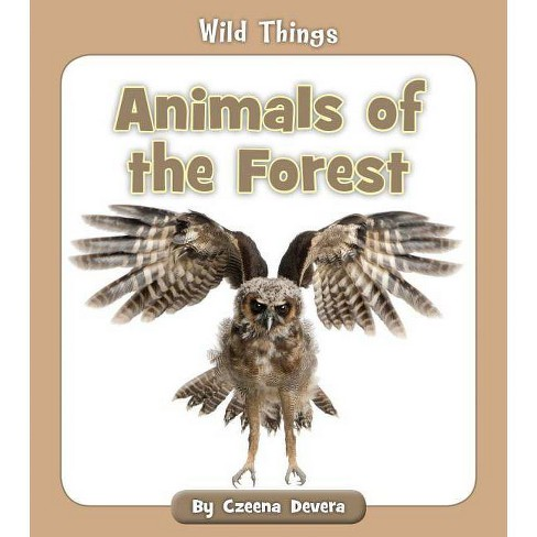 Animals of the Forest - (Wild Things) by  Czeena Devera (Paperback) - image 1 of 1